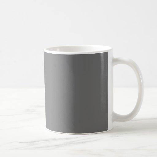 Charcoal Classic White Coffee Mug
