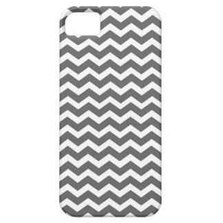 Charcoal Congregation Chevron Stripes iPhone SE/5/5s Case
