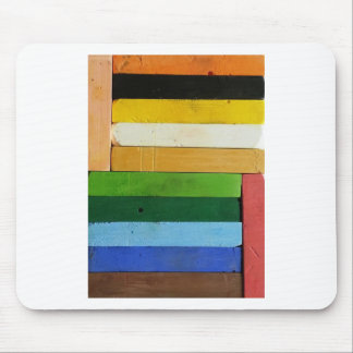Charcoal Crayons Mouse Pad