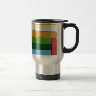 Charcoal Crayons 15 Oz Stainless Steel Travel Mug