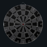"Charcoal Gray And Black Dart Board<br><div class=""desc"">Charcoal Gray And Black Dart Board</div>"
