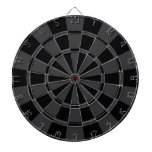 Charcoal Gray And Black Dart Board<br><div class='desc'>Charcoal Gray And Black Dart Board</div>