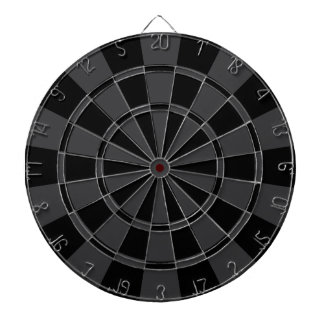 Charcoal Gray And Black Dart Board