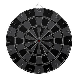 Charcoal Gray And Black Dart Board