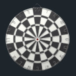 "Charcoal Gray And White Dart Board<br><div class=""desc"">Charcoal Gray And White Dart Board</div>"