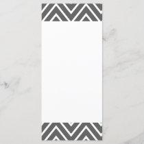 Charcoal Gray Chevron Pattern 2