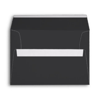 Charcoal Gray Envelope