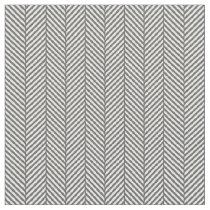 Charcoal Gray Herringbone Fabric
