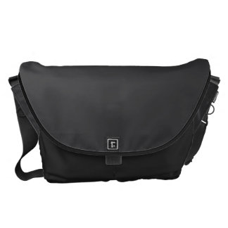 Charcoal Gray Messenger Bags