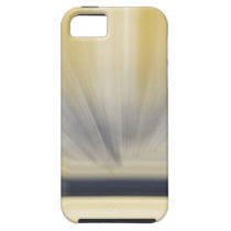 Charcoal Grey and Yellow Abstract iPhone SE/5/5s Case