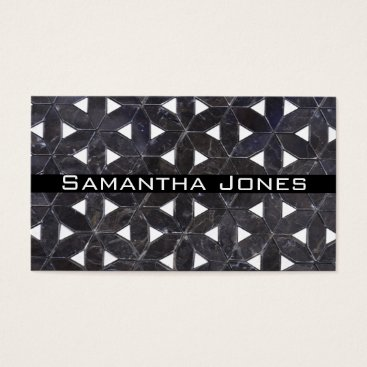 Professional Business Charcoal Grey Business Card