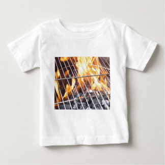 Charcoal Grill Baby T-Shirt