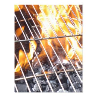 Charcoal Grill Letterhead