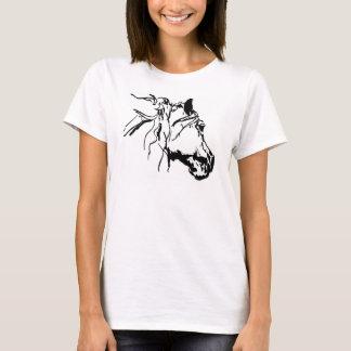 Charcoal Horse Head T-Shirt