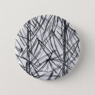 Charcoal Lines on Paper Pinback Button