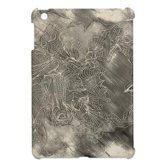 Charcoal Man iPad Mini Cases