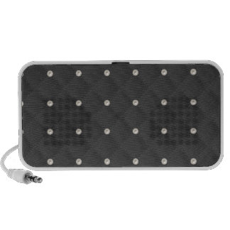 Charcoal Pearl Stud Quilted Speaker System