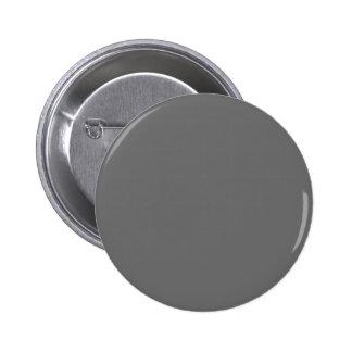 Charcoal Pinback Button