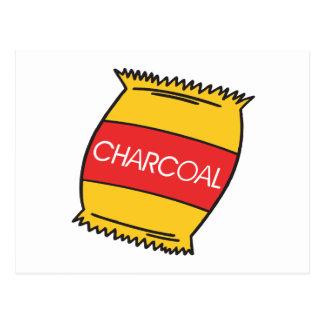 Charcoal Postcard