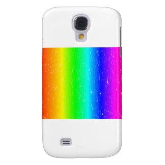 Charcoal Rainbow Samsung Galaxy S4 Cases