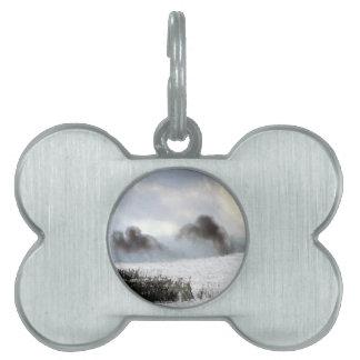 Charcoal Sea.jpg Pet ID Tag