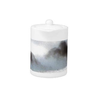Charcoal Sea.jpg Teapot