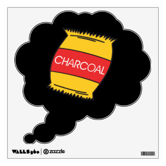 Charcoal Wall Sticker