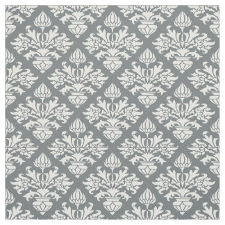 Vintage Damask Fabric | Zazzle