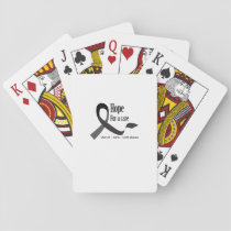 Charcot Marie Tooth Fighting Support Playing Cards
