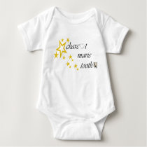 charcot marie tooth stars baby bodysuit