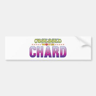 Chard 2 Obsessed Car Bumper Sticker