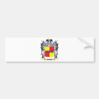 Chard Coat of Arms - Family Crest Car Bumper Sticker