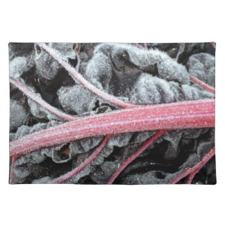 chard Encrusted with Frost, photograph Placemat