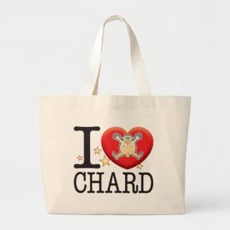 Chard Love Man Jumbo Tote Bag