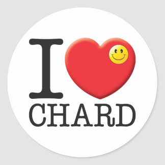 Chard Classic Round Sticker