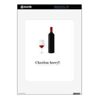 Chardon-heeey!! Skin For The iPad
