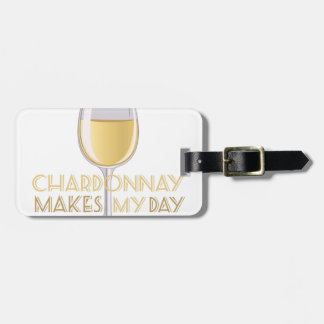 Chardonnay Bag Tag