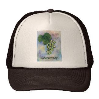 Chardonnay Wine Grapes & Description Hat