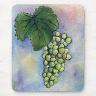 Chardonnay Wine Grapes Mousepad