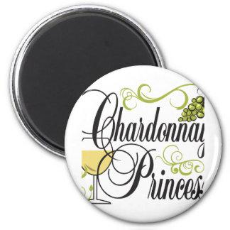Chardonnay Wine Princess Magnet