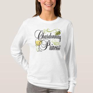 Chardonnay Wine Princess T-Shirt