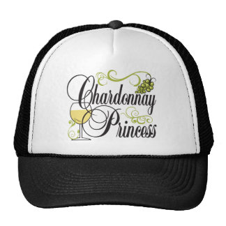 Chardonnay Wine Princess Trucker Hat