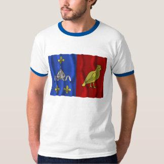 Charente-Maritime waving flag T-Shirt