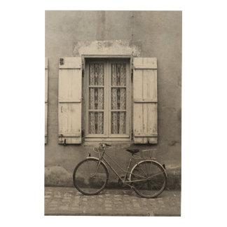 Charentes Bike Marans Wood Wall Art