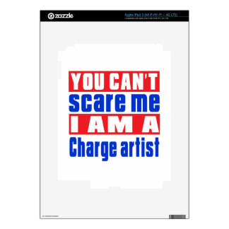 Charge artist scare designs skins for iPad 3
