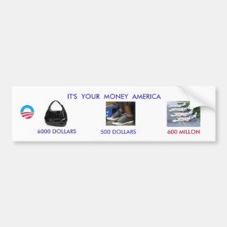 CHARGE CARD BUMPER STICKER