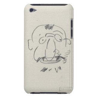 Charge de Lautrec par Lui-Meme (pencil on paper) Barely There iPod Cases