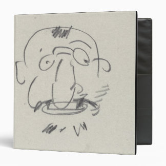 Charge de Lautrec par Lui-Meme (pencil on paper) Binder