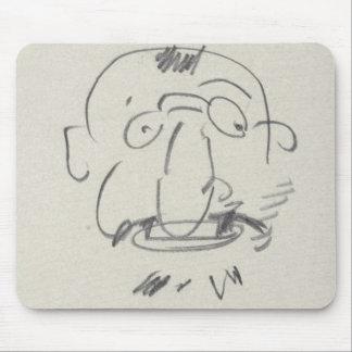 Charge de Lautrec par Lui-Meme (pencil on paper) Mouse Pad