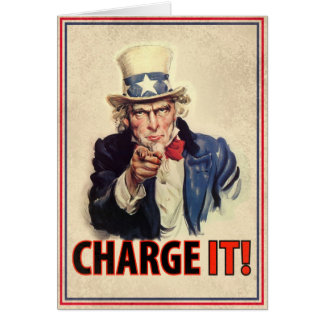 Charge It! Greeting Cards
